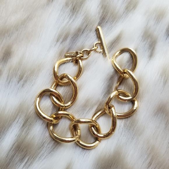 3/$20 Vintage Monet Oversized Chain Bracelet